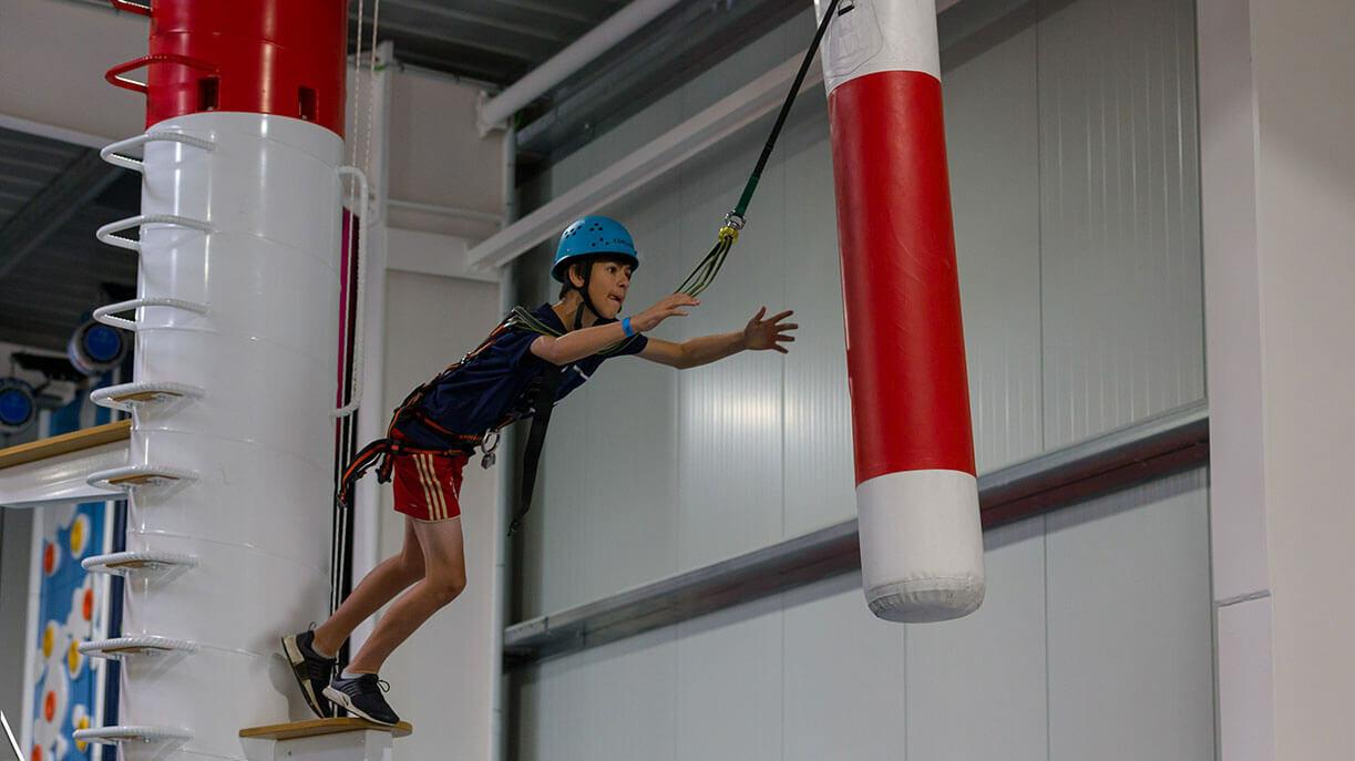 Skegness Pier - Clip 'n Climb - Leap of Faith