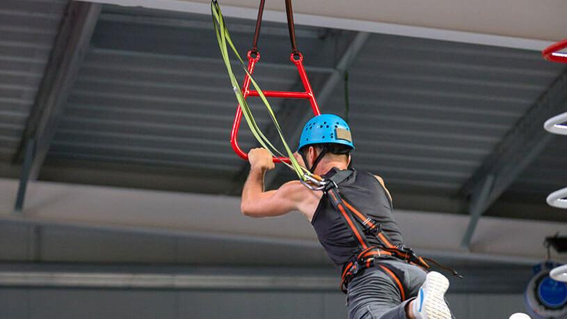Skegness Pier - Clip & Climb - Leap of Faith