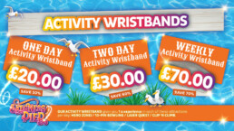 Skegness Pier wristband offers