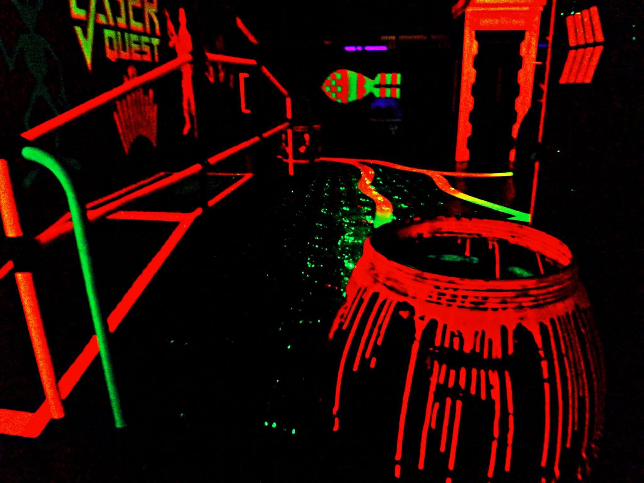Skegness Pier - Laser Quest